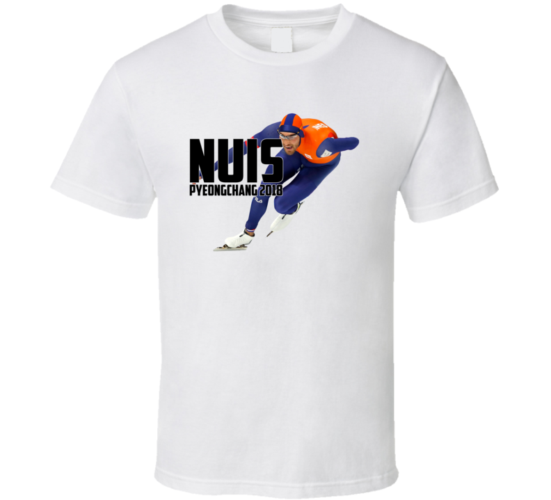 Kjeld Nuis Netherlands Speed Skating 2018 Olympic Athelete Fan T Shirt