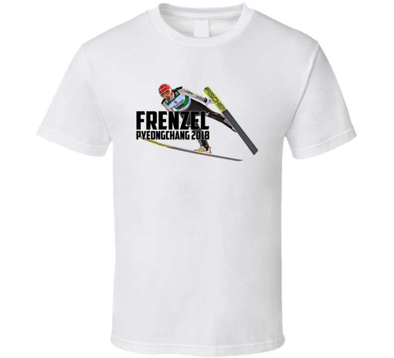 Eric Frenzel Germany Nordic Combined 2018 Olympic Athelete Fan T Shirt