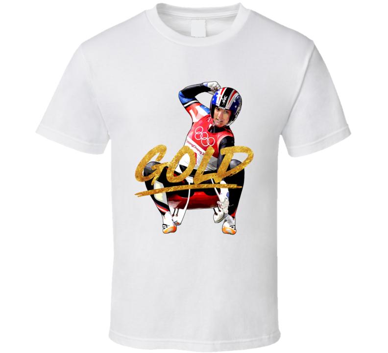 Natalie Geisenberger Gold German Luge 2018 Olympic Athelete Fan T Shirt