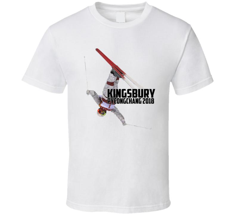 Mikael Kingsbury Canada Freestyle Skiing 2018 Olympic Athelete Fan T Shirt