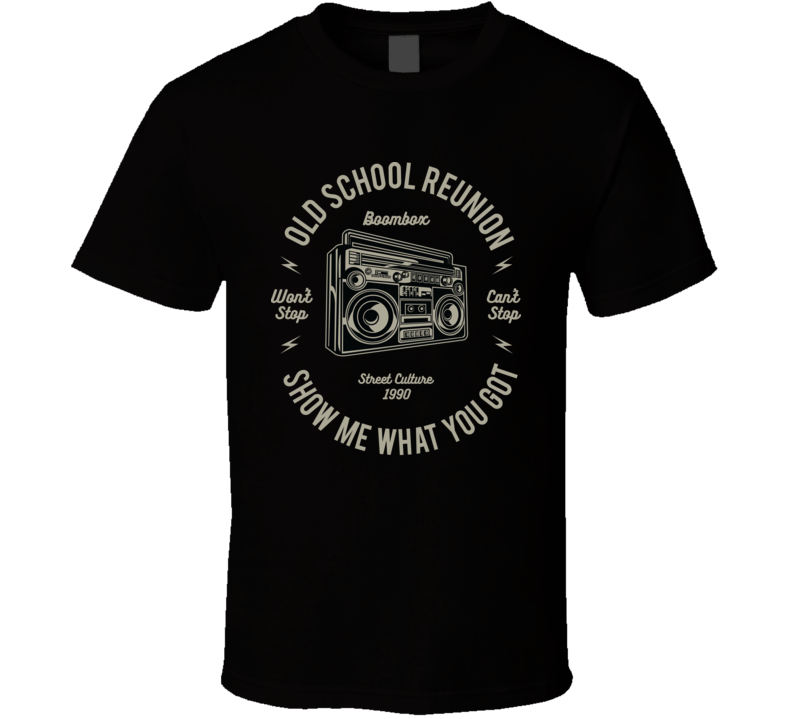 ON THE SPOT CUSTOM TEE Hip Hop T-shirt Gift