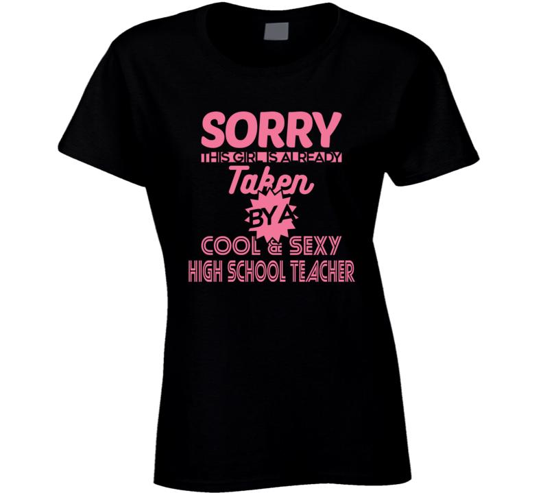 ON THE SPOT CUSTOM TEE Cool And Sexy Teacher T-Shirt