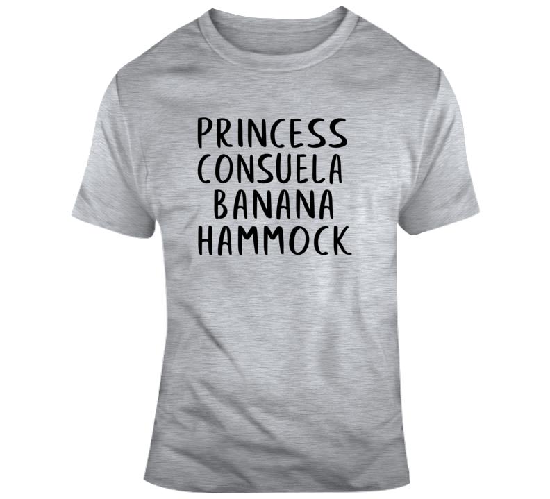Princess Consuela Banana Hammock Friends Tv Show Inspired T Shirt