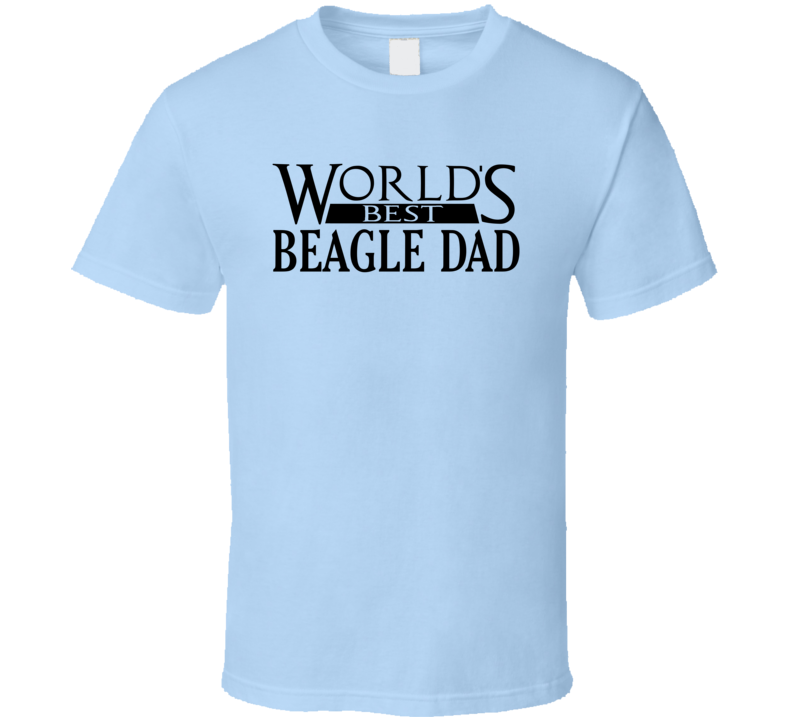 Best Beagle Dad T Shirt