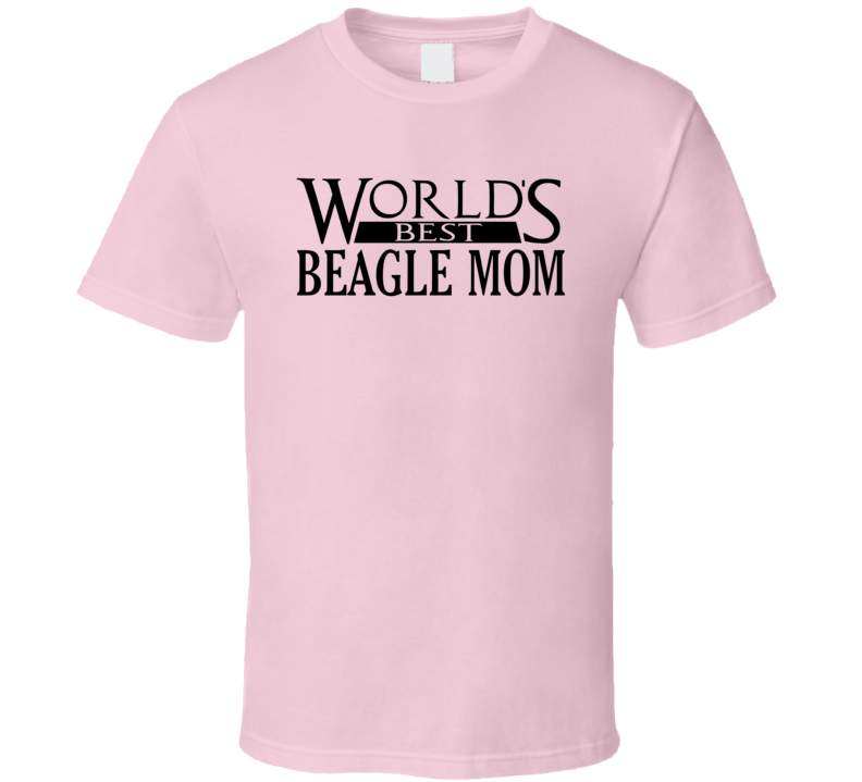 Best Beagle Mom T Shirt