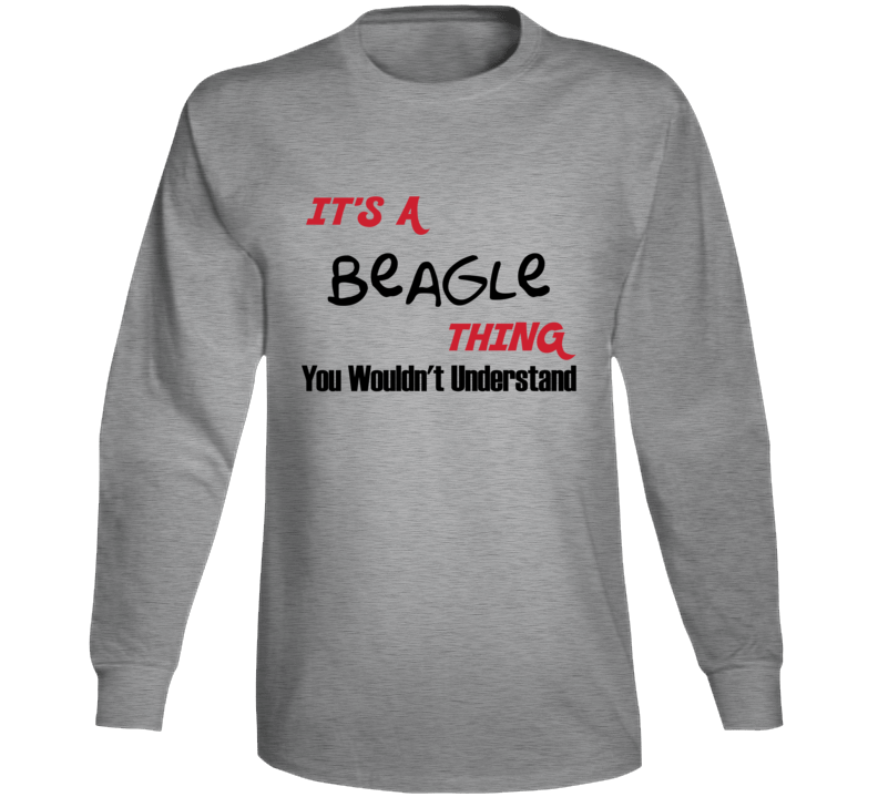 Beagle Thing Long Sleeve