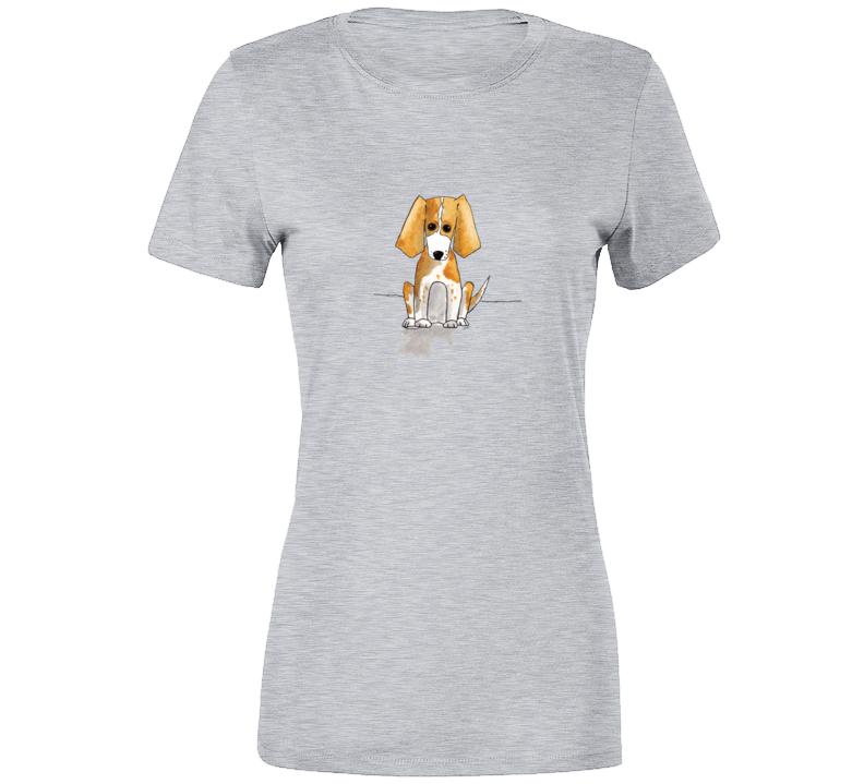 Hand-drawn Beagle T Shirt