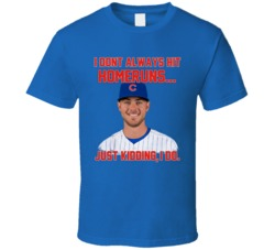 Kris Bryant Chicago Baseball Homeruns Funny Sports T Shirt