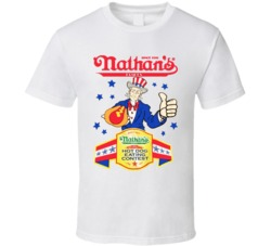 Nathans Hotdog Eating Contest 2016 T Shirt