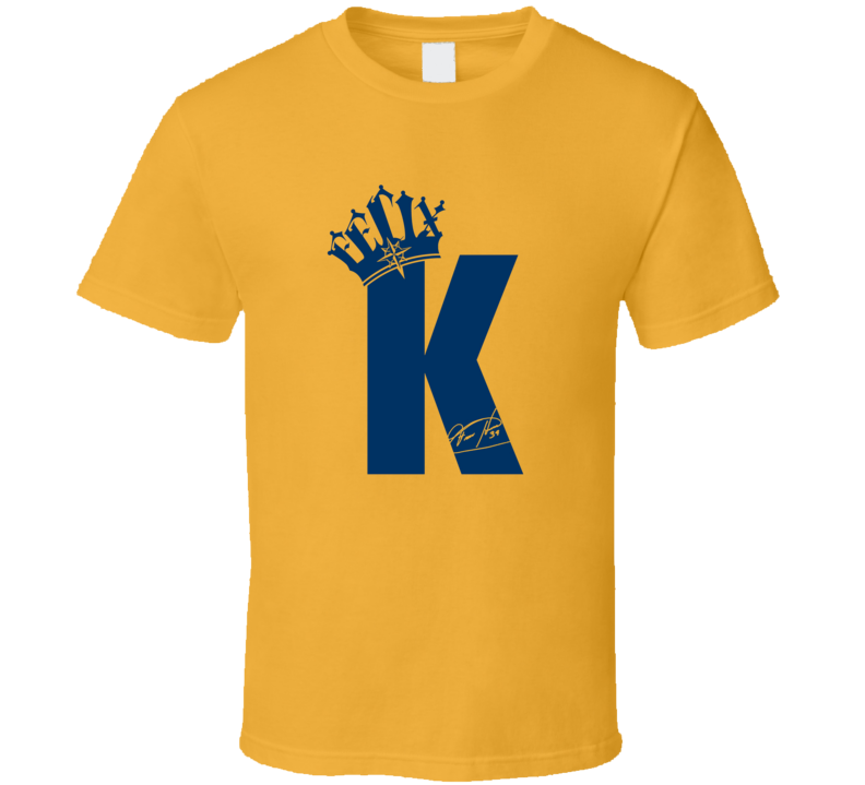 King Felix Seattle Baseball Player Legend Felix Hernandez Sports Fan T Shirt
