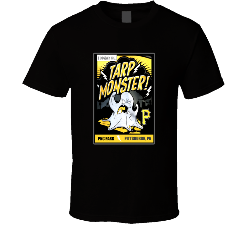 Tarp Monster PNC Park Pittsburgh Baseball Sport T Shirt