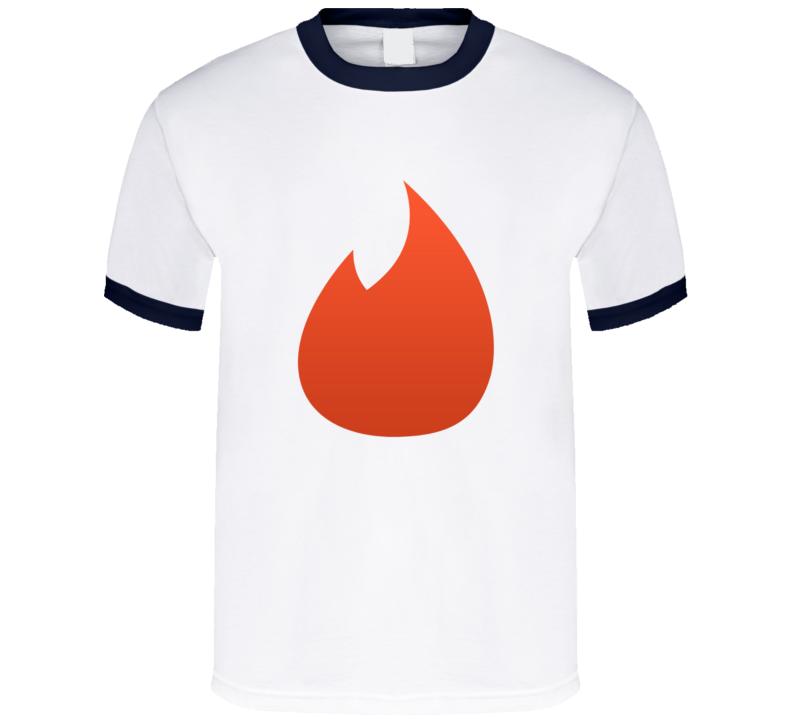 Giant Tinder Logo Funny T Shirt