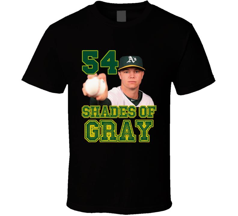 54 Shades of Sonny Gray Oakland Baseball T Shirt