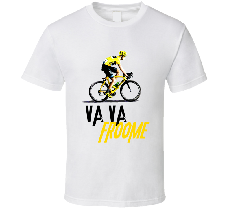 Va Va Froome Chris Froome Tour De France Cycle Cycling Winner‏ T Shirt