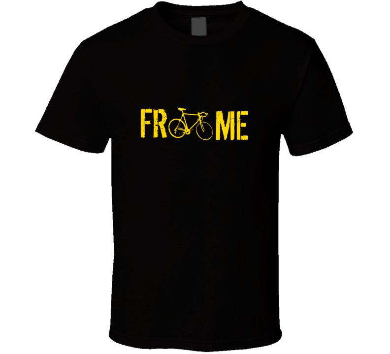 Chris Froome Bicyclist Tour De France Winner T Shirt