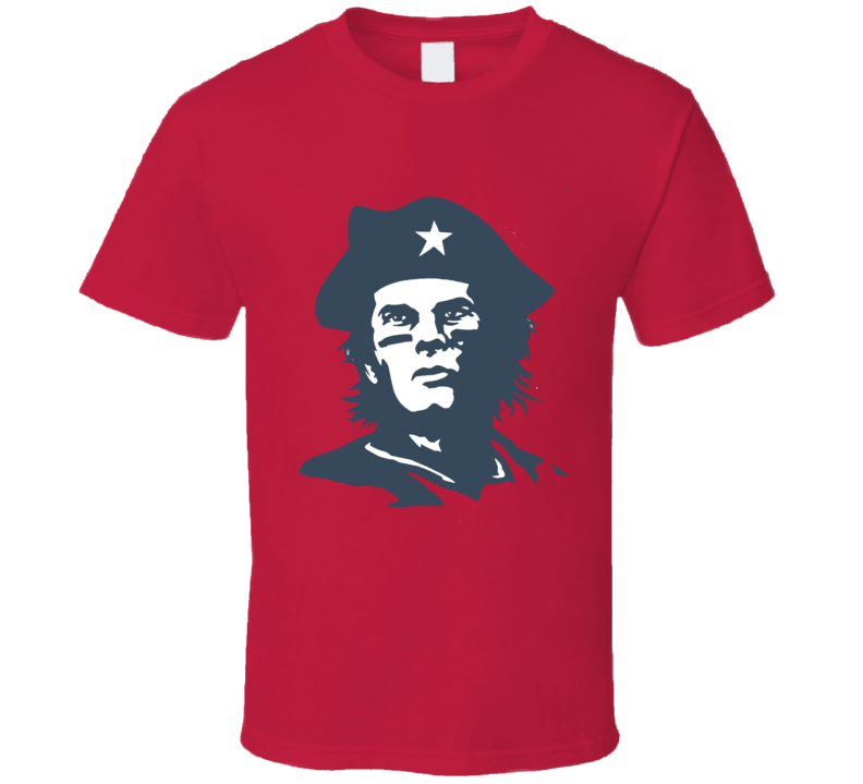 Che Tom Brady New England Football T Shirt
