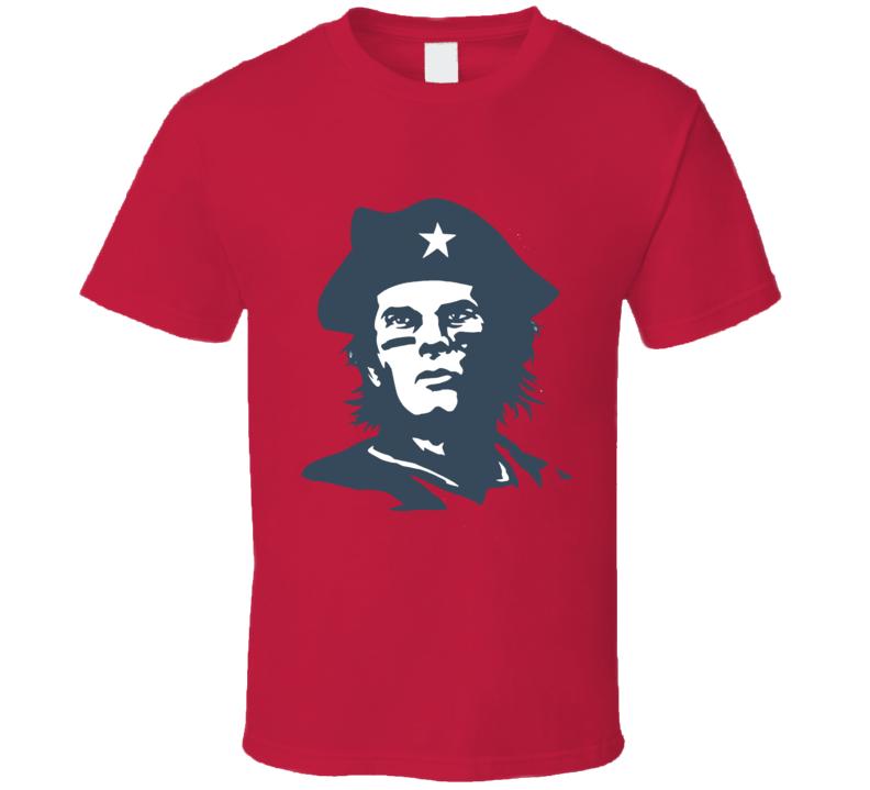 Che Tom Brady New England Football T Shirt