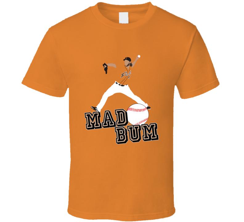 Madison Bumgarner Mad Bum San Francisco Baseball T Shirt