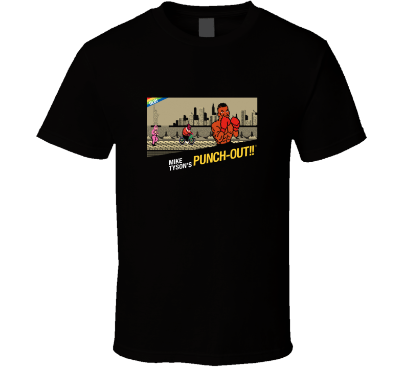 Mike Tysons Punch Out Video Game T Shirt