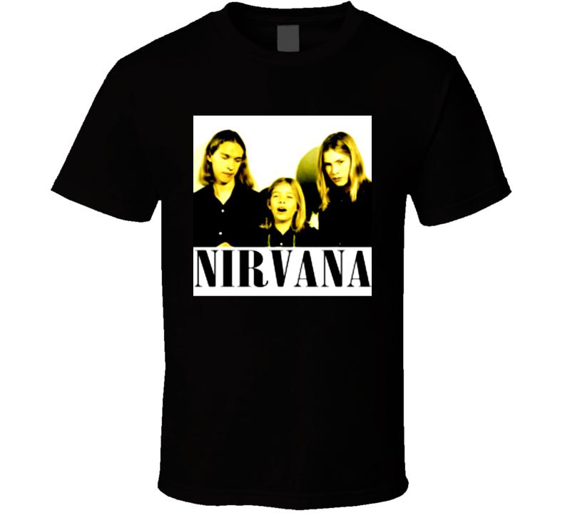 Nirvana Hanson Parody Music T Shirt