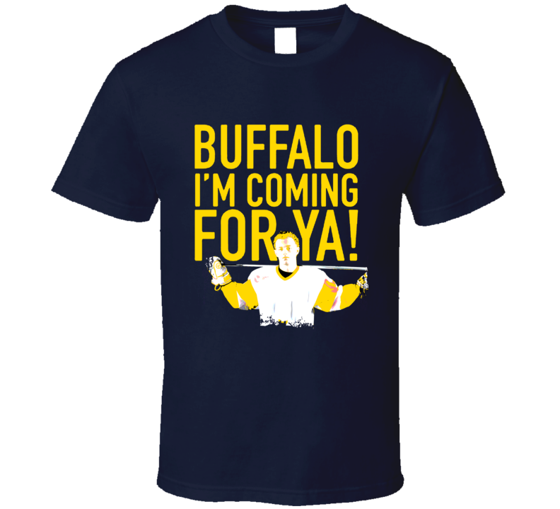 Buffalo Im Coming For Ya Jack Eichel Hockey T Shirt