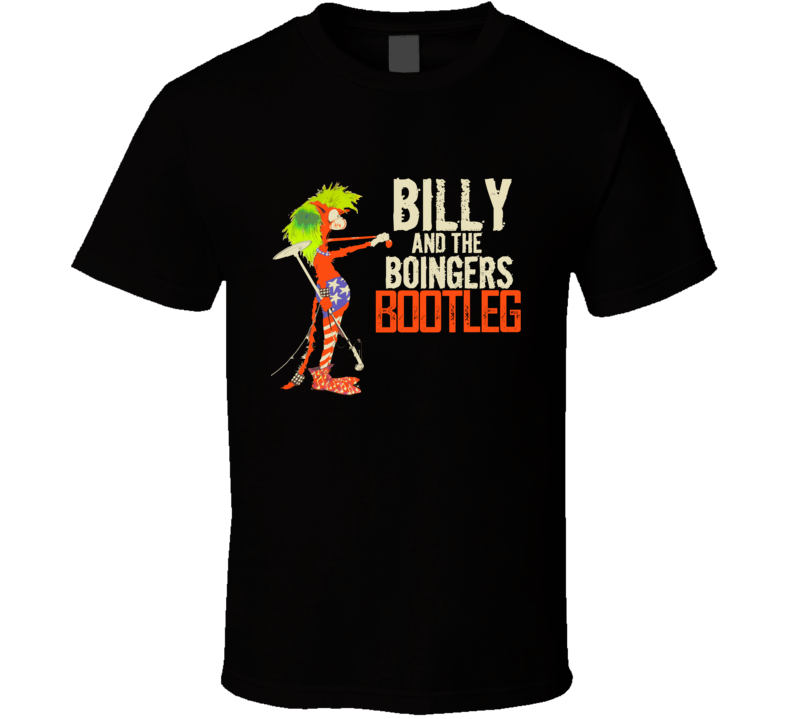 Bill Cat Billy And The Boingers Bootleg T Shirt