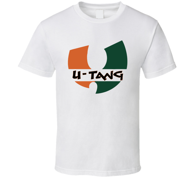 Miami Florida University Wu Tang U Tang T Shirt