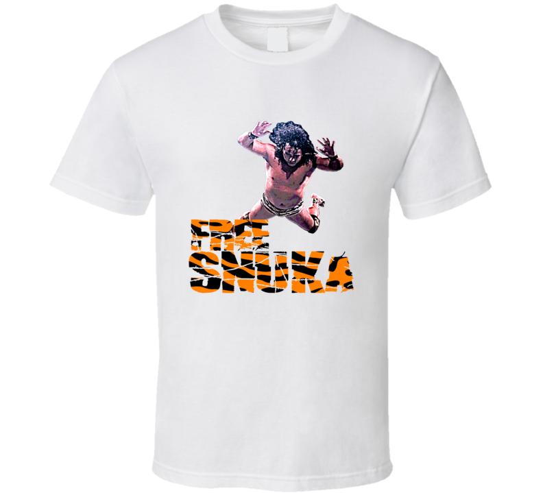 Free Snuka Jimmy Superfly Wrestler T Shirt