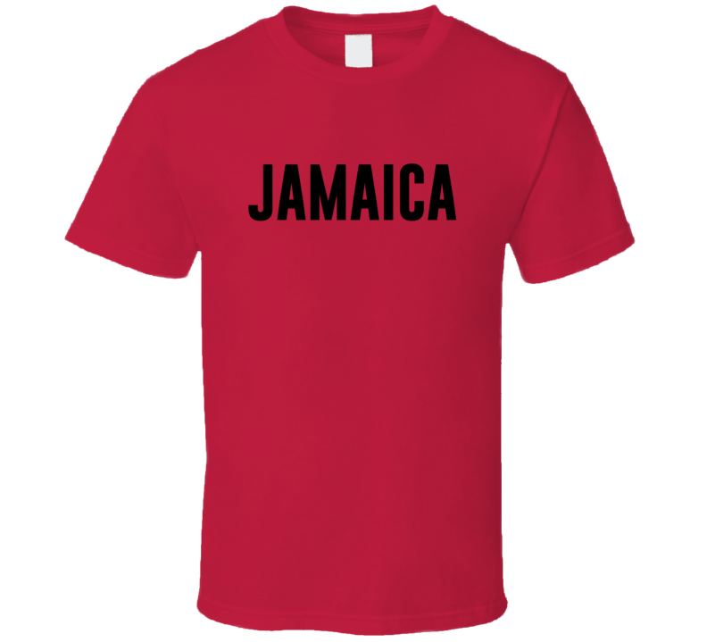 Jamaica Wet Red T Shirt
