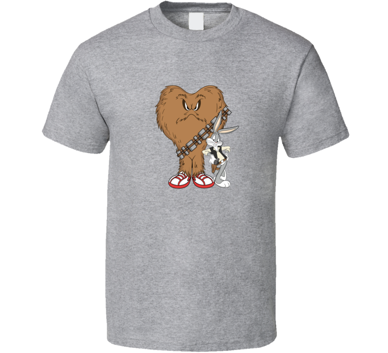 Star Wars Versus Looney Tunes Bugs Bunny T Shirt