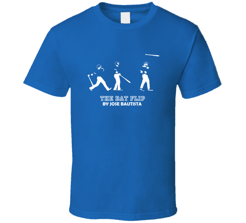 The Bat Flip Jose Bautista Toronto Baseball T Shirt