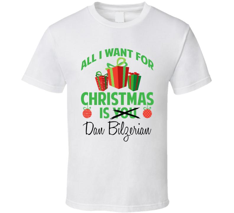 All I Want For Christmas Is Dan Bilzerian Celebrity T Shirt