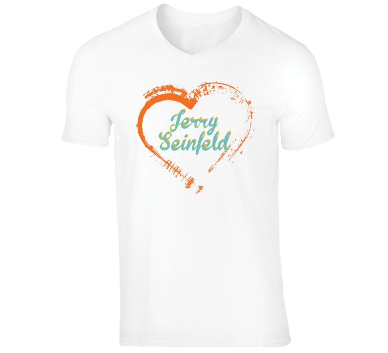 Heart Jerry Seinfeld Celebrity T Shirt