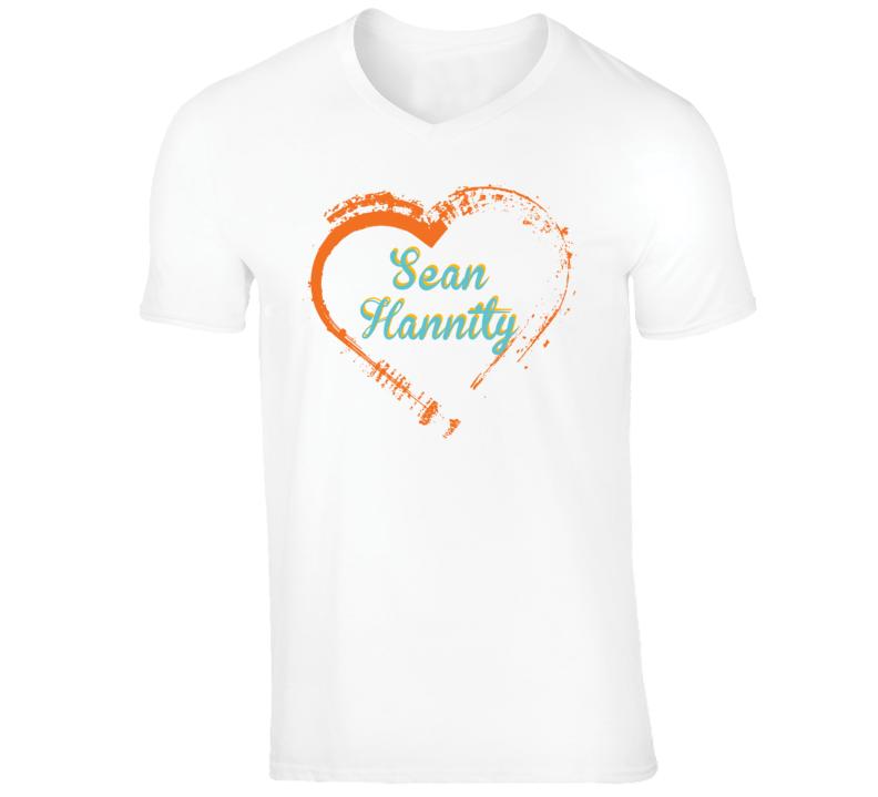 Heart Sean Hannity Celebrity T Shirt