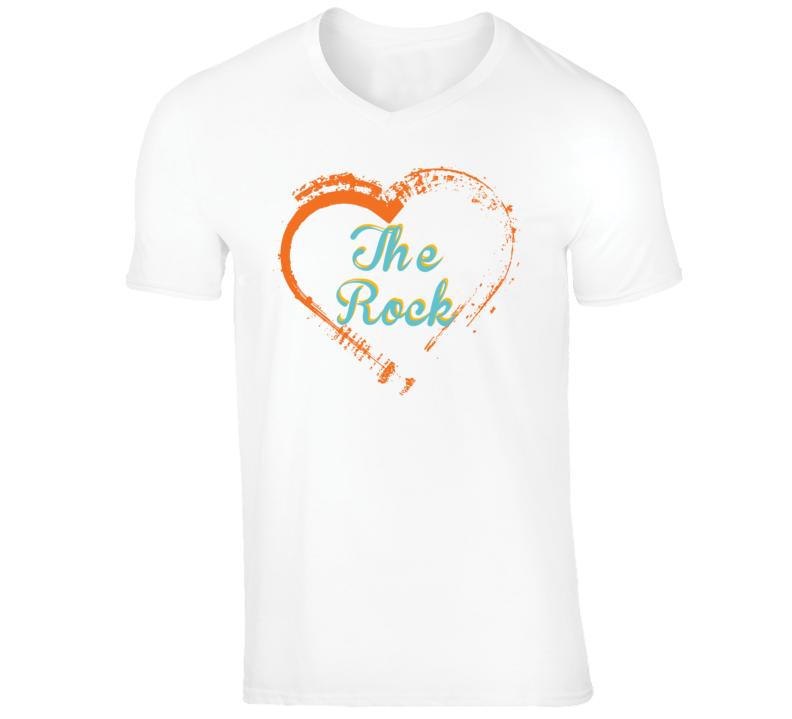 Heart The Rock Celebrity T Shirt