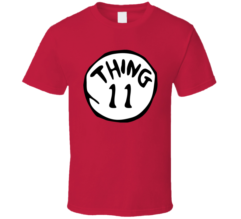 Thing 11 Dr Seuss Funny T Shirt