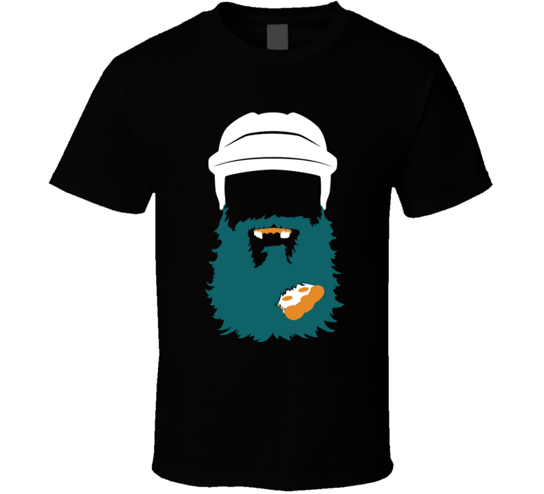 Brent Burns Pizza Beard San Jose Hockey Fan T Shirt