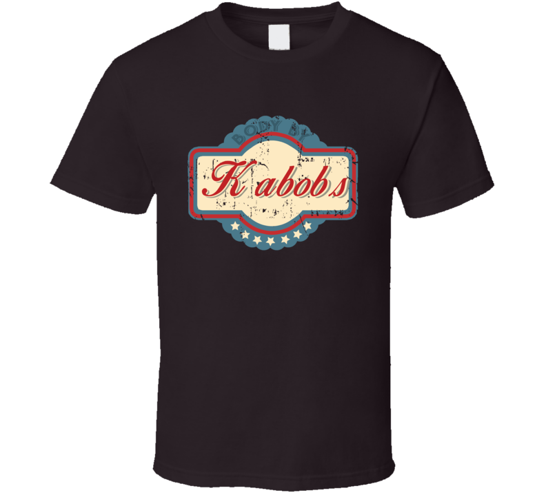 Body By Kabobs Funny Food Lover T Shirt