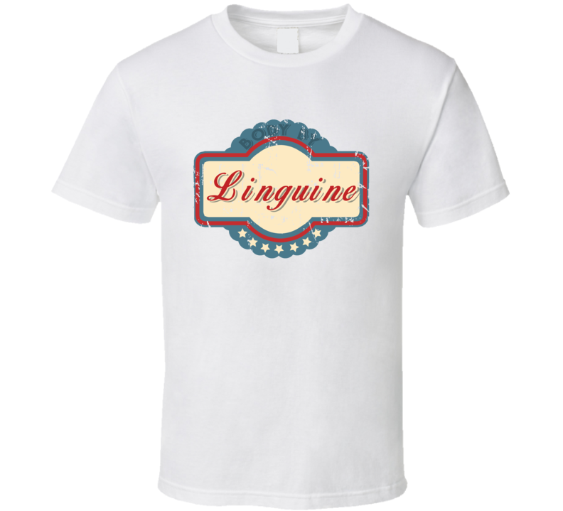 Body By Linguine Funny Food Lover T Shirt