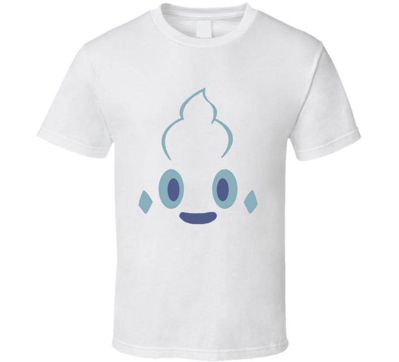 Vanillish Pokemon Face Funny T Shirt