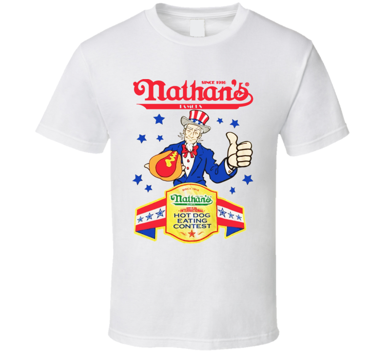 Nathans Hotdog Eating Contest 2016 T Shirt