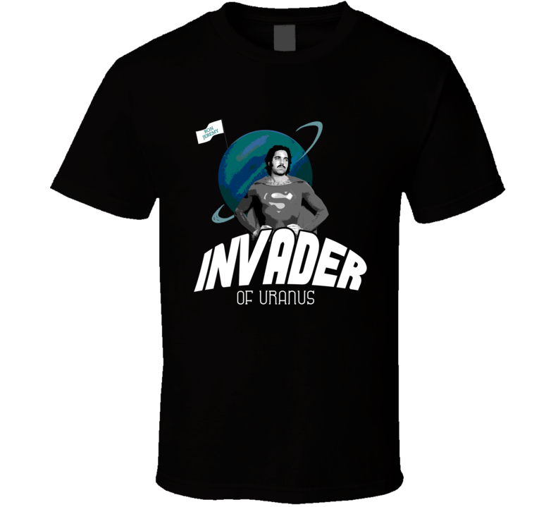 Invader Of Uranus Ron Jeremy Pornstar Legend Funny T Shirt