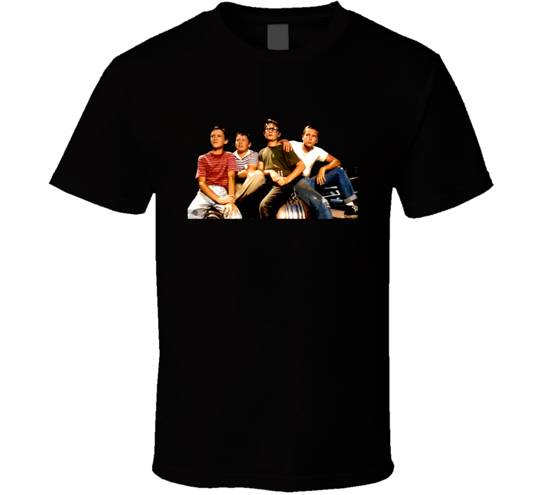 Stand By Me Characters Movie T Shirt