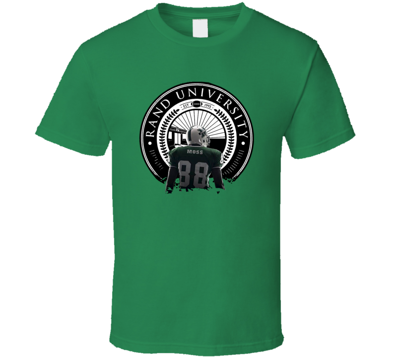 Randy Moss Marshall University Football Sports T Shirt