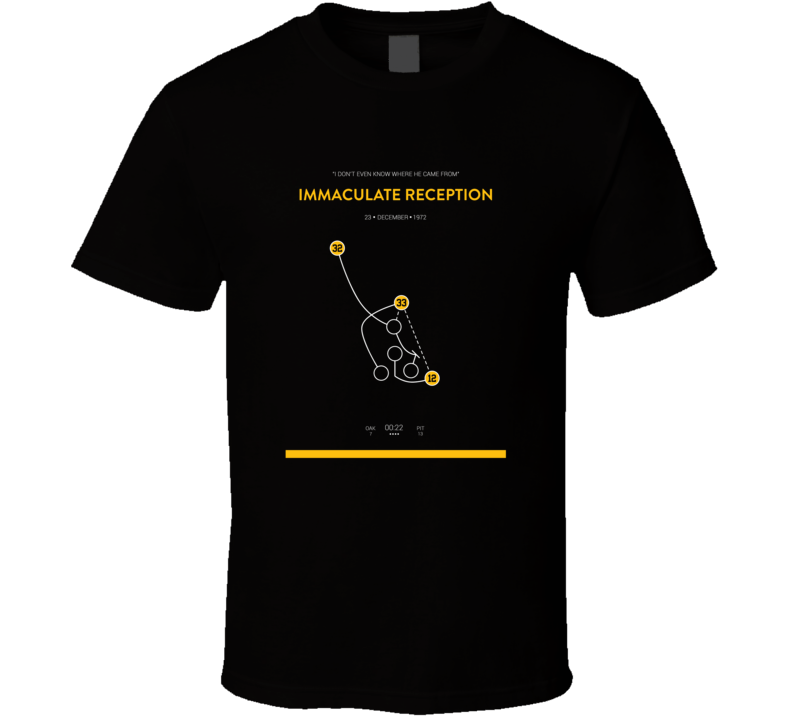 Immaculate Reception Dave Parker Pittsburgh Baseball Tshirt