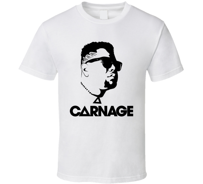 DJ Carnage Ravers Dream EDM T Shirt