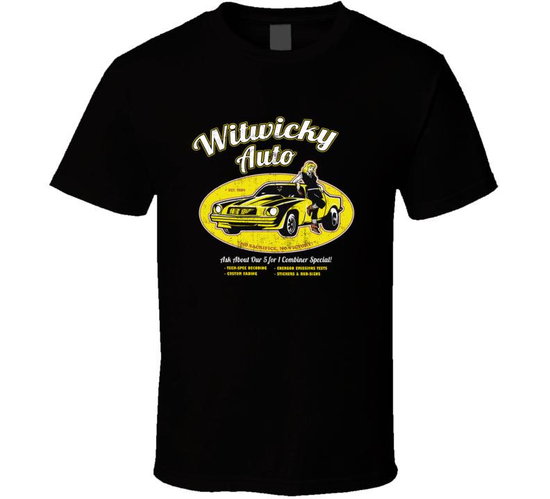 Witwicky Auto Transformers T Shirt
