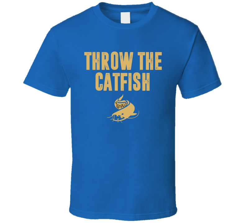 Throw The Catfish Nashville Predators Catfish Hockey T Shirt
