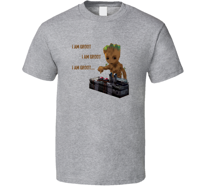 Baby Groot Death Button T Shirt