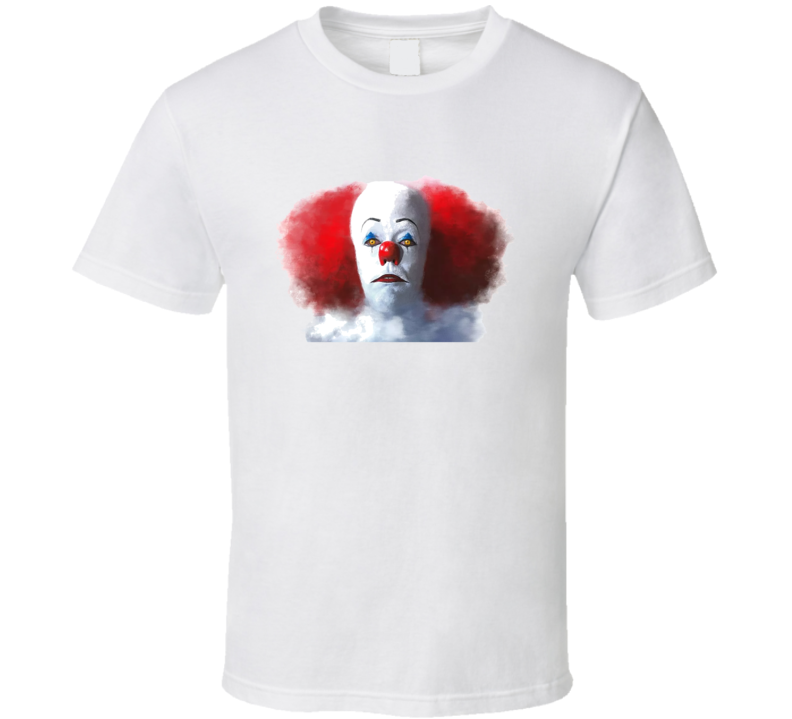 1990 It Tim Curry Clown Scary Movie T Shirt
